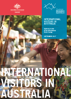 Results of the International Visitor Survey: Year Ending September 2017