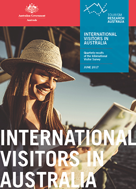 International Visitor Survey results in June 2017